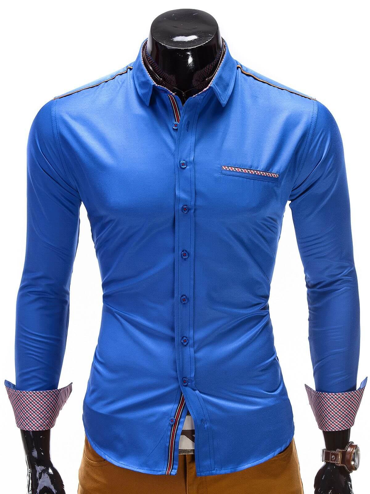 koszula-k145-niebieska