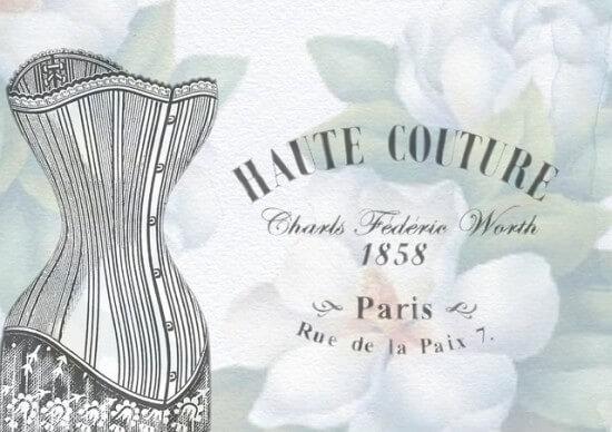Haute couture dawniej