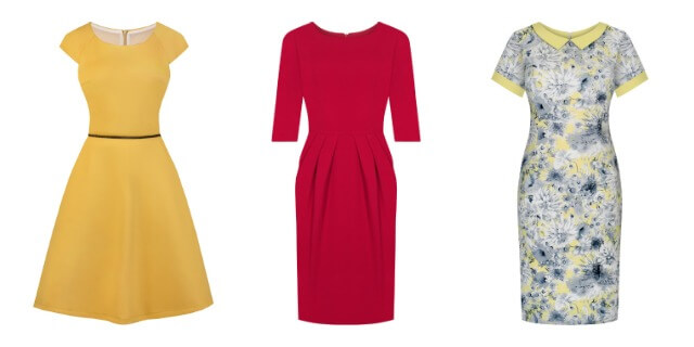 Kolorowe sukienki do pracy