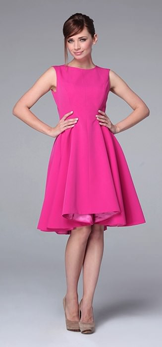 80801d4f01ad9 Czar landrynek, czyli sukienki koloru różowego - Baan