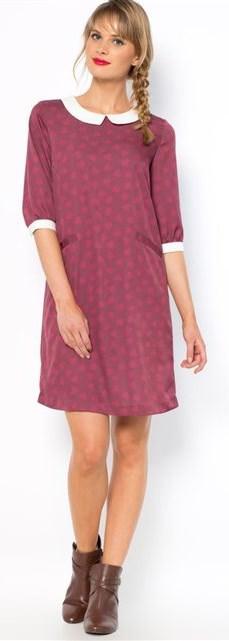 sukienka w stylu pensjonarskim