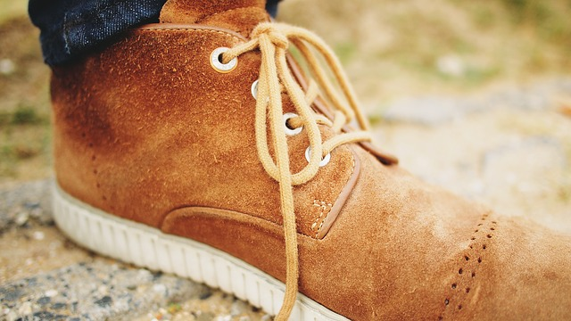Zamszowe buty