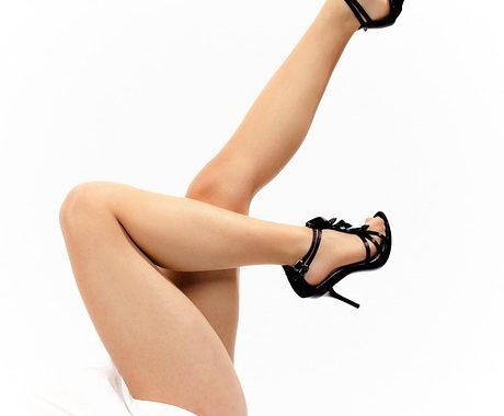 Piękne długie nogi