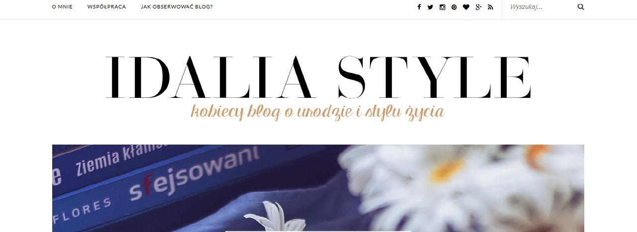 Idalia Style blog urodowy
