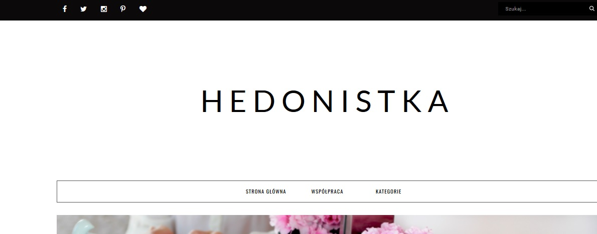 Kosmetyczna Hedonistka blog urodzowy