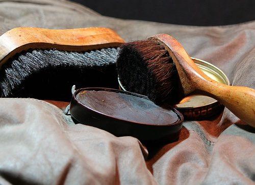 Pasta szczotka do czyszczenia butów