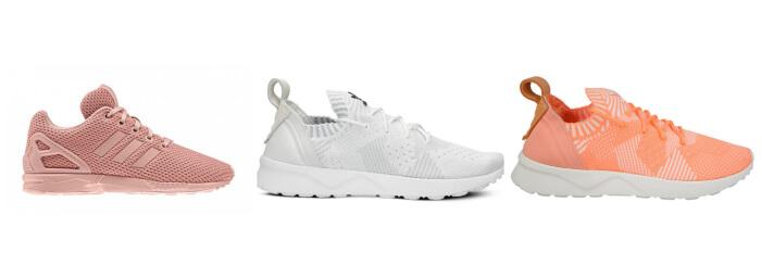 Kolaż sneakersów Adidas