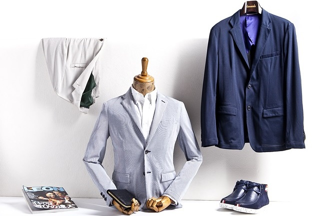 Zestaw męskiego garnituru