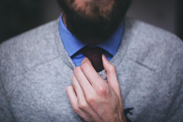 Eleggancko ubrany mężczyzna